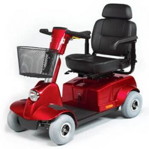 Fortress 1700 DT TA 4wheel Electric mid size Mobility scooter