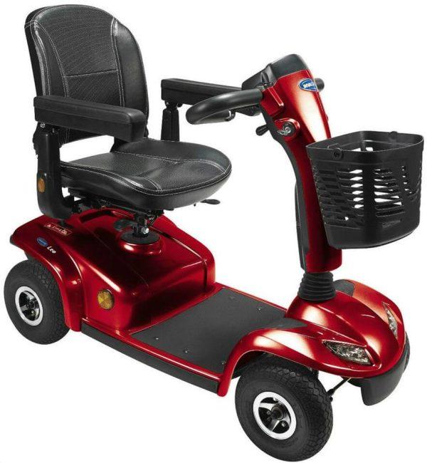 Invacare Leo 4 Wheel red