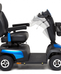 Pegasus Metro blue adjustable controls 4 wheel mobility scooter