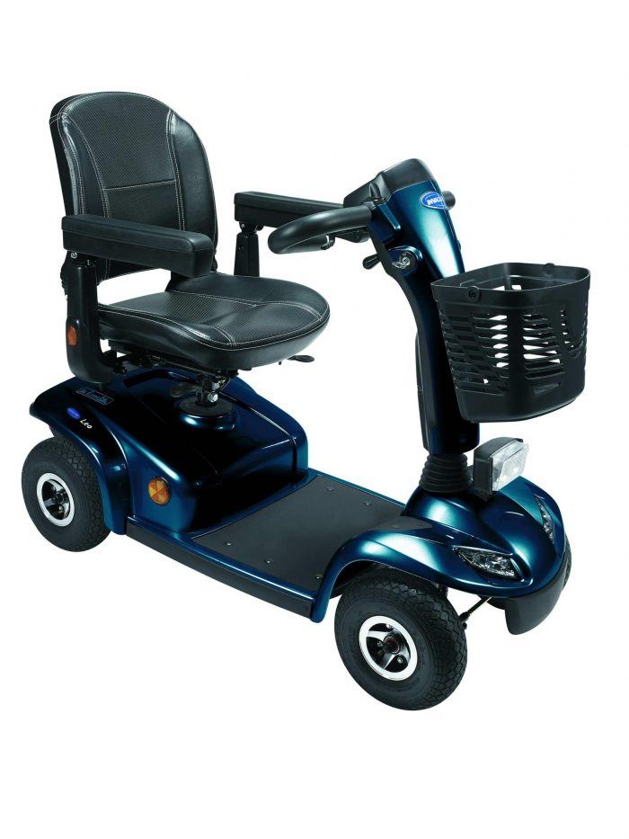 Invacare LEO 4B 400 4 wheel power electric mobility scooter