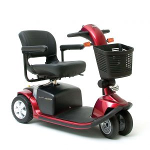 Pride Victory Twin 3 Wheel electric mobility scooter