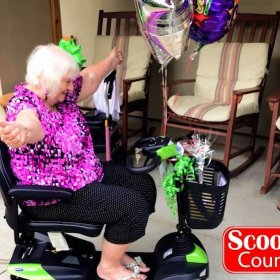 Scooter Country Give away contest winner