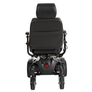 Titan AXS Mid-Wheel Drive Powerchair back view