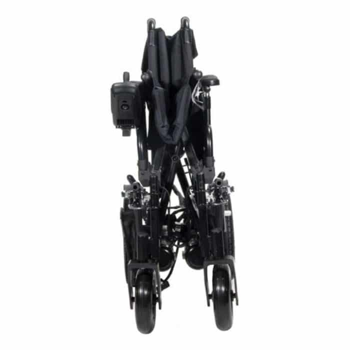 Cirrus Plus HD Powerchair folded