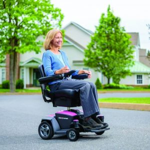 pride go chair pinklifestyle powerchair