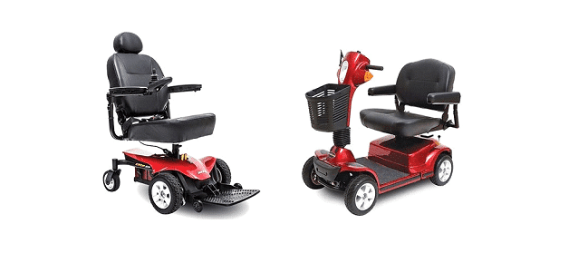 scooters vs powerchairs
