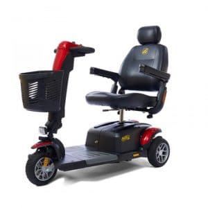 buzz around lx 3 wheel electric mobility scooter