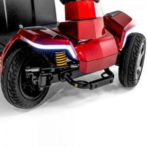 Pride Zero Turn (ZT10) 4 wheel scooter bright front LED light